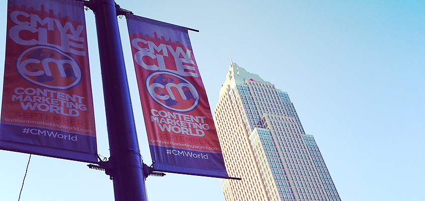 CM-World in Cleveland 2016 - Plakatwerbung