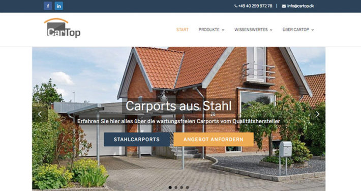 Website Relaunch und SEO Optimierung Cartop